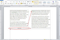 10 Tips For Working With Word Columns – Techrepublic within 3 Column Word Template