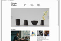 10 Well-Designed Squarespace Commerce Sites – Design Milk within Best Squarespace Template