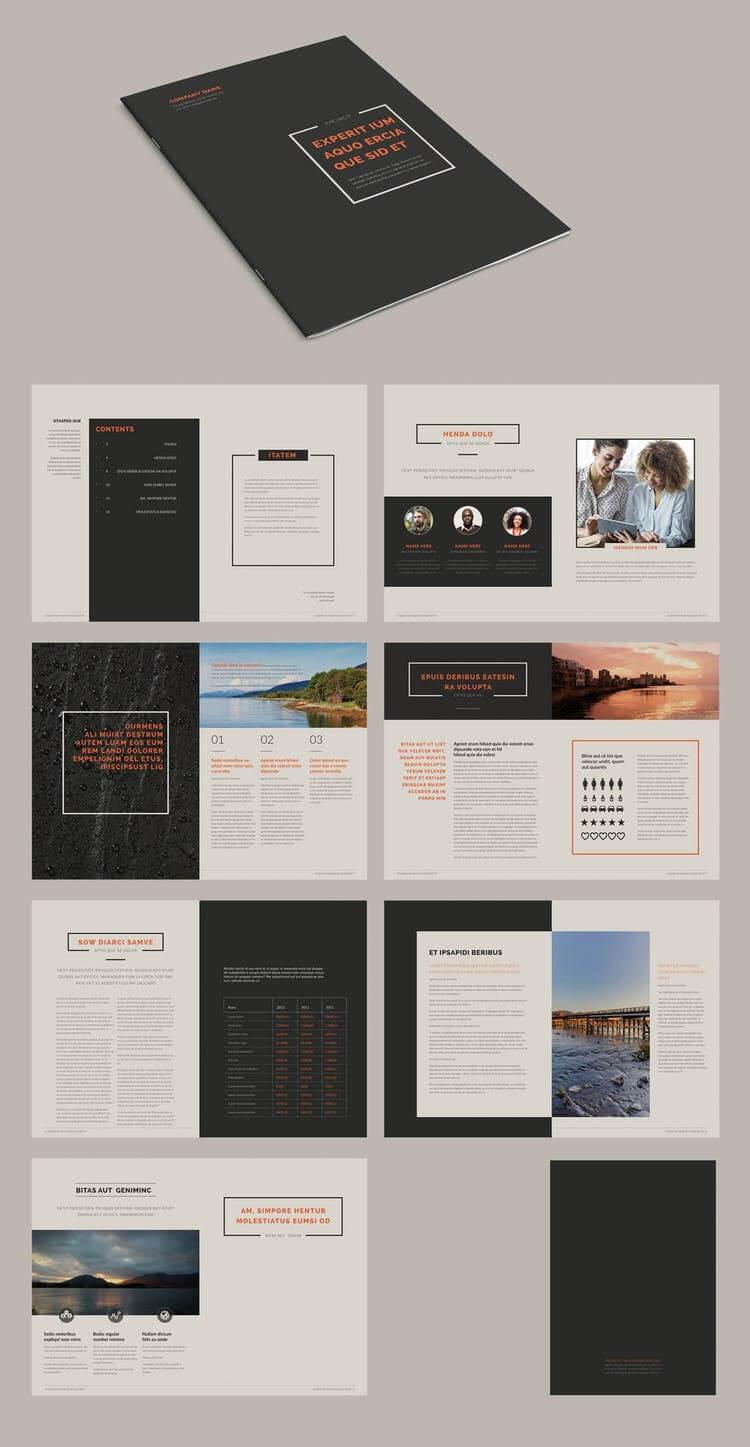 100 Best Indesign Brochure Templates For Brochure Templates Free Download Indesign