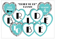 11 Best Photos Of Bride To Be Banner Template – Diy Bridal for Bridal Shower Banner Template
