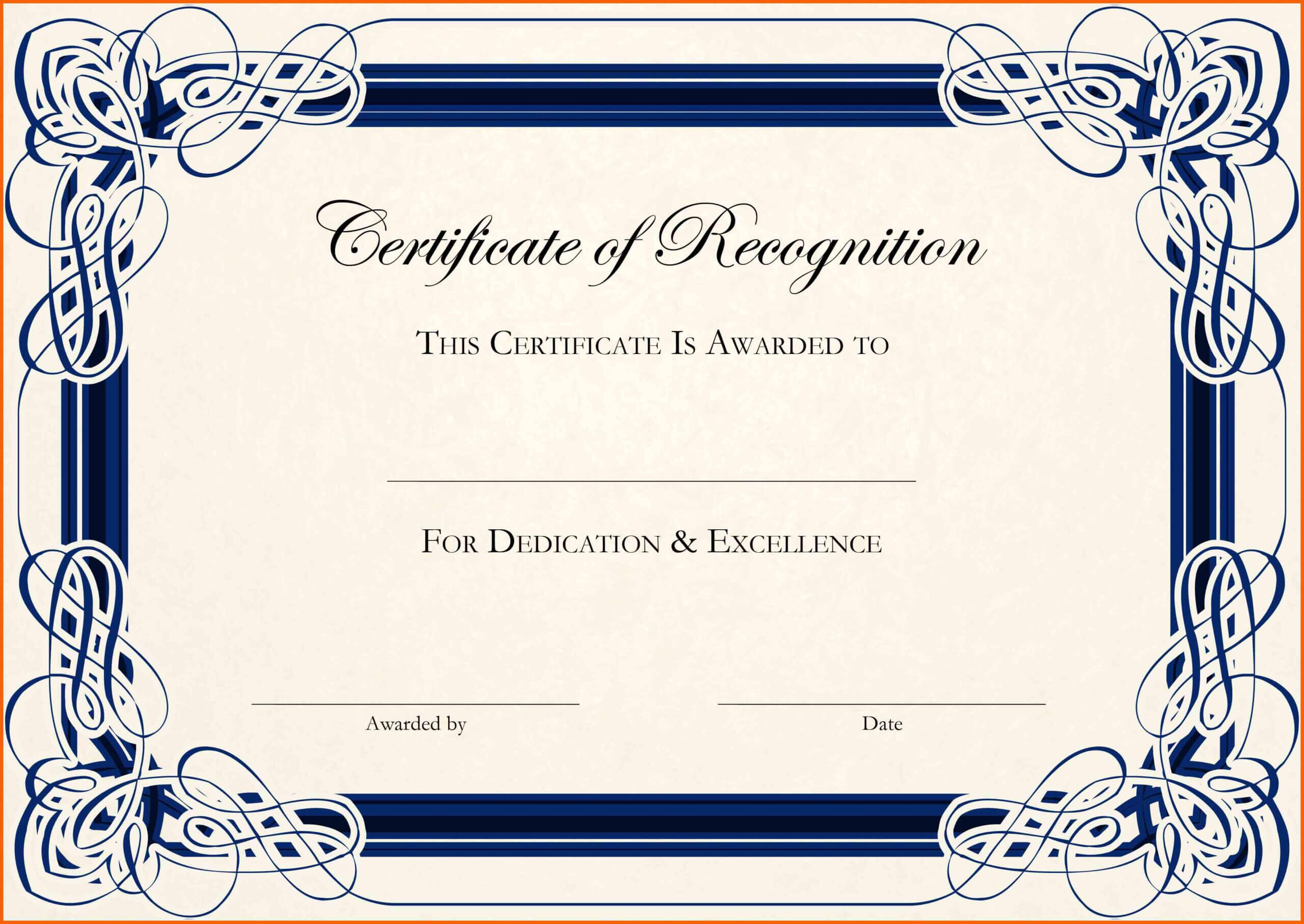 11+ Free Downloads Certificate Templates In Word | Ml Datos Intended For Blank Certificate Templates Free Download