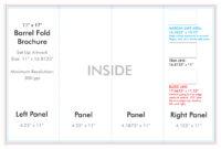 "11"" X 17"" Barrel Fold Brochure Template – U.s. Press intended for 11X17 Brochure Template"