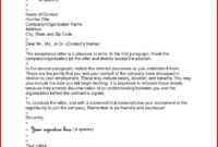 12 Letter Of Offer Of Employment Template | Resume Letter within Certificate Of Acceptance Template