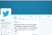 13 Best Photos Of Twitter Profile Template Tweet – Blank inside Blank Twitter Profile Template