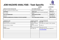13+ Job Safety Analysis Examples – Pdf, Word, Pages | Examples intended for Activity Hazard Analysis Template