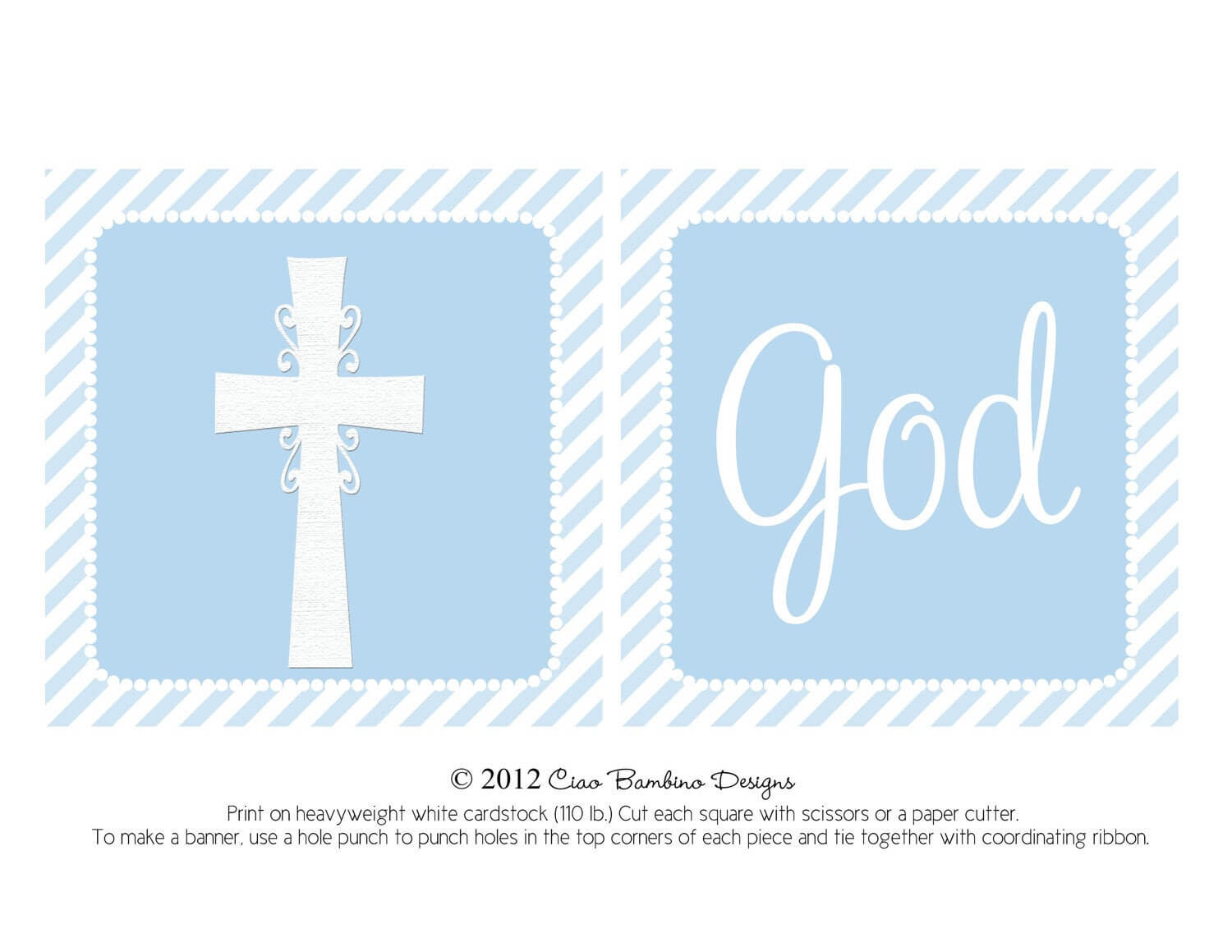 14 Christening Banner Template Free Download, Banner For Christening Banner Template Free