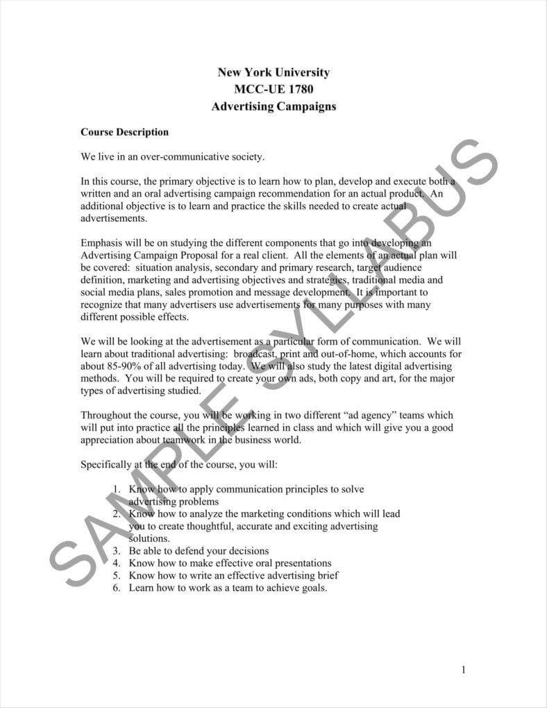 15+ Advertising Proposal Templates - Word, Apple Pages, Pdf With Advertising Proposal Template
