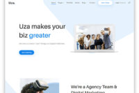 15+ Best Free Multipurpose Website Templates 2020 – Uicookies pertaining to Bootstrap Templates For Business