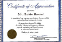 15+ Certificate Of Appreciation In Word Format | Sowtemplate throughout Certificate Of Recognition Word Template