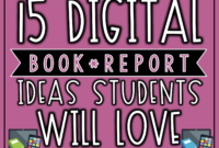 15 Digital Book Report Ideas Your Students Will Love | The inside Book Report Template In Spanish