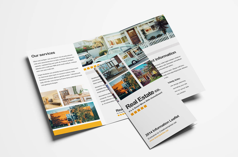 15 Free Tri Fold Brochure Templates In Psd & Vector – Brandpacks In Ai Brochure Templates Free Download