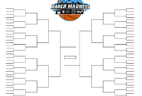 15 March Madness Brackets Designs To Print For Ncaa with regard to Blank March Madness Bracket Template