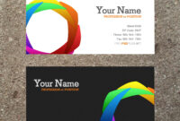 16 Business Card Templates Images – Free Business Card regarding Business Card Template Word 2010