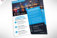 16 Business Flyers Psd Images – Free Business Flyer with Business Flyer Templates Free Printable