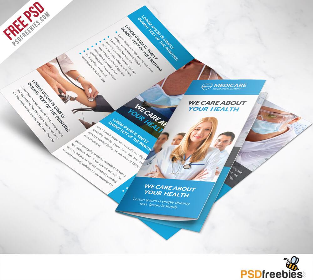 16 Tri Fold Brochure Free Psd Templates: Grab, Edit & Print For Brochure Psd Template 3 Fold
