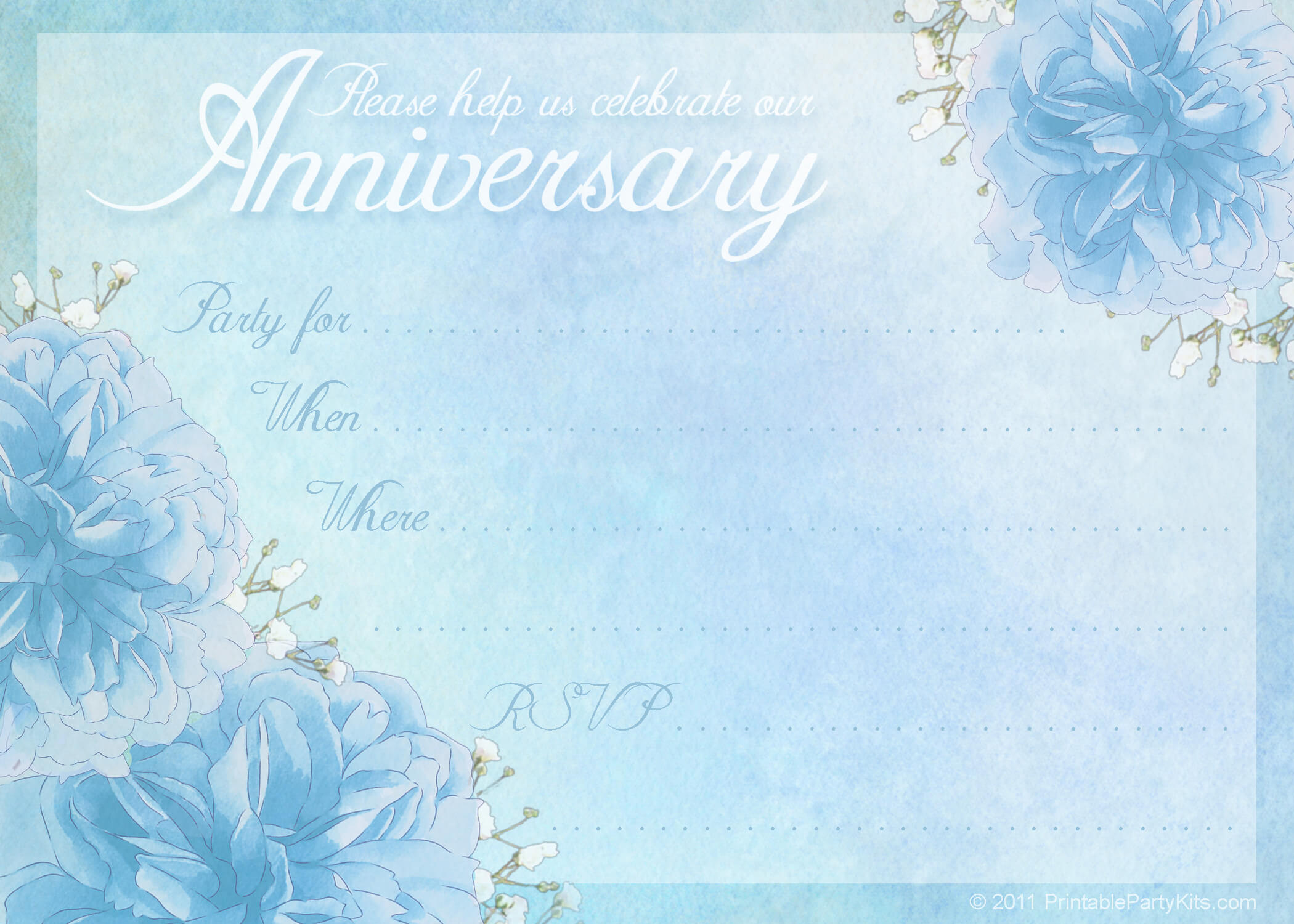 16 Wedding Anniversary Templates Free Images – Anniversary Regarding Anniversary Certificate Template Free