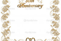 16 Wedding Anniversary Templates Free Images – Anniversary throughout Anniversary Certificate Template Free