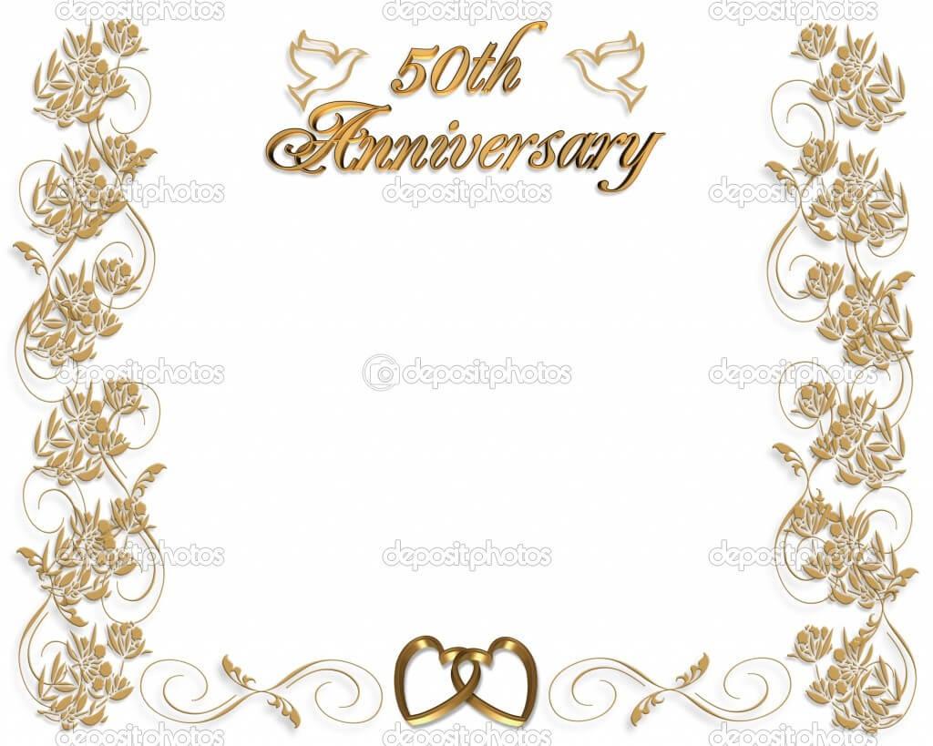 16 Wedding Anniversary Templates Free Images – Anniversary Throughout Anniversary Certificate Template Free