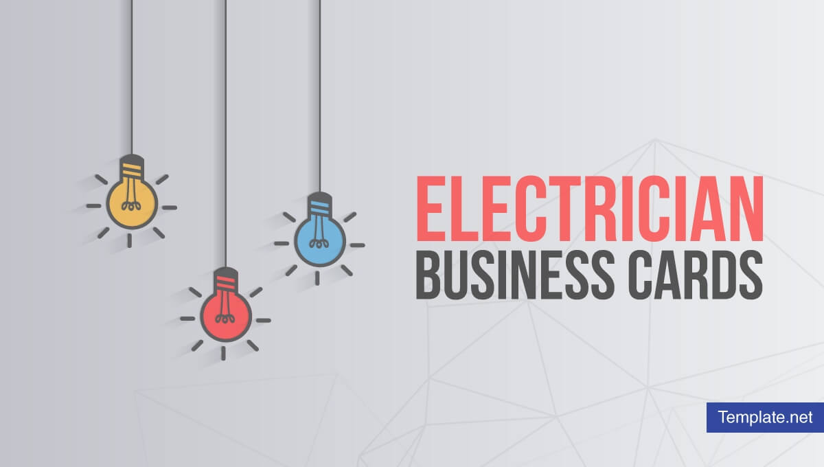 17+ Electrician Business Card Designs & Templates – Psd, Ai Throughout Business Cards For Teachers Templates Free