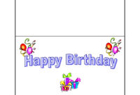 17 Images Of Birthday Party Card Template | Splinket throughout Birthday Card Template Microsoft Word