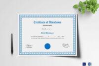 18 Attendance Certificate Word Psd Docs Training Template inside Attendance Certificate Template Word