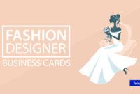 18+ Fashion Designer Business Card Templates – Ai, Pages with Christian Business Cards Templates Free