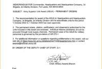 18 Images Of U.s. Army Memorandum Template Word with Army Memorandum Template Word