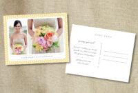19 Postcard Psd Template Images – What Does A Postcard Look in Back Of Postcard Template Photoshop