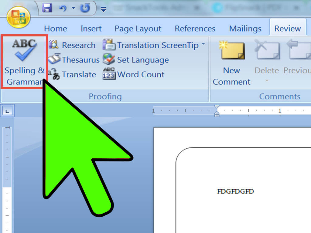2 Easy Ways To Make A Booklet On Microsoft Word - Wikihow Regarding Booklet Template Microsoft Word 2007