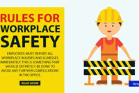 2 General Workplace Safety Rules & Templates – Word | Free with Business Rules Template Word