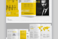 20 Best Annual Report Template Designs (For Financial Year pertaining to Chairman's Annual Report Template