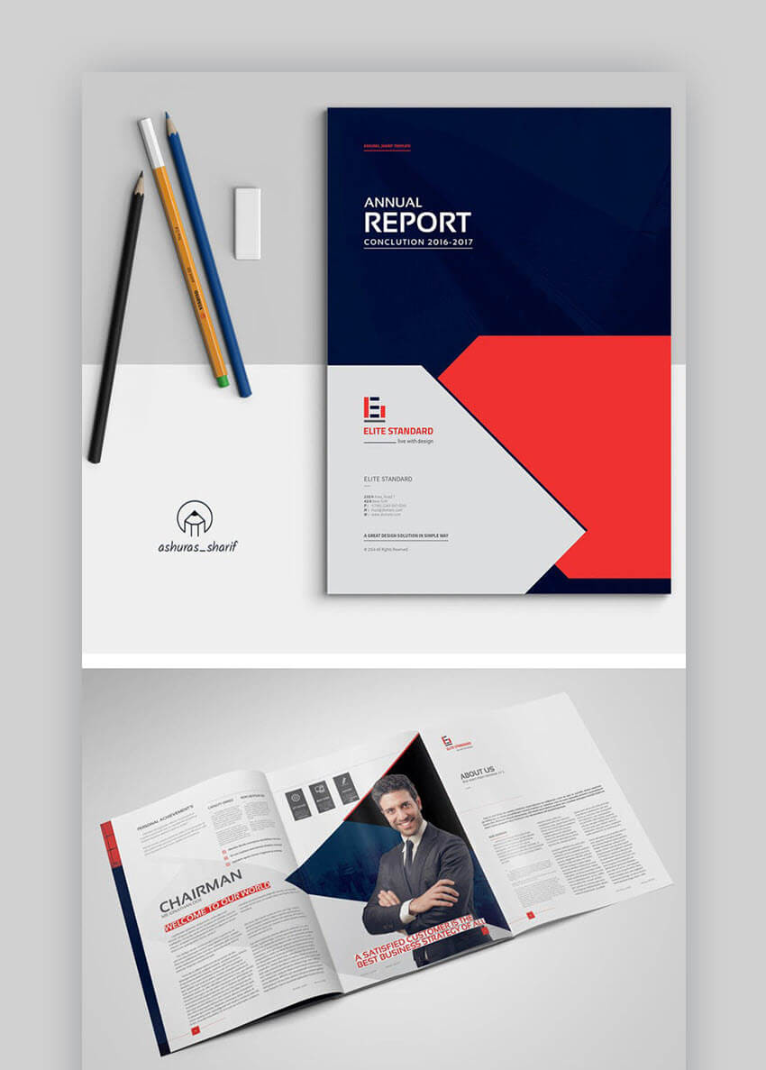 20 Best Annual Report Template Designs (For Financial Year Regarding Chairman's Annual Report Template