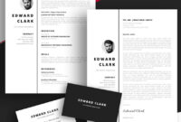 20 Best Free Pages & Ms Word Resume Templates For Mac (2019) throughout Business Card Template Pages Mac
