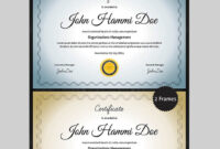 20 Best Word Certificate Template Designs To Award intended for Award Certificate Design Template