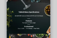 20 Cool Restaurant (Food) Menu Templates (Best Modern with Adobe Illustrator Menu Template