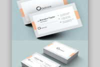 20+ Double-Sided, Vertical Business Card Templates (Word, Or with 2 Sided Business Card Template Word