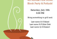 20 Free Barbeque Flyer Templates – Demplates pertaining to Block Party Flyer Template Free