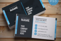 20+ Free Business Card Templates Psd – Download Psd with regard to Calling Card Template Psd