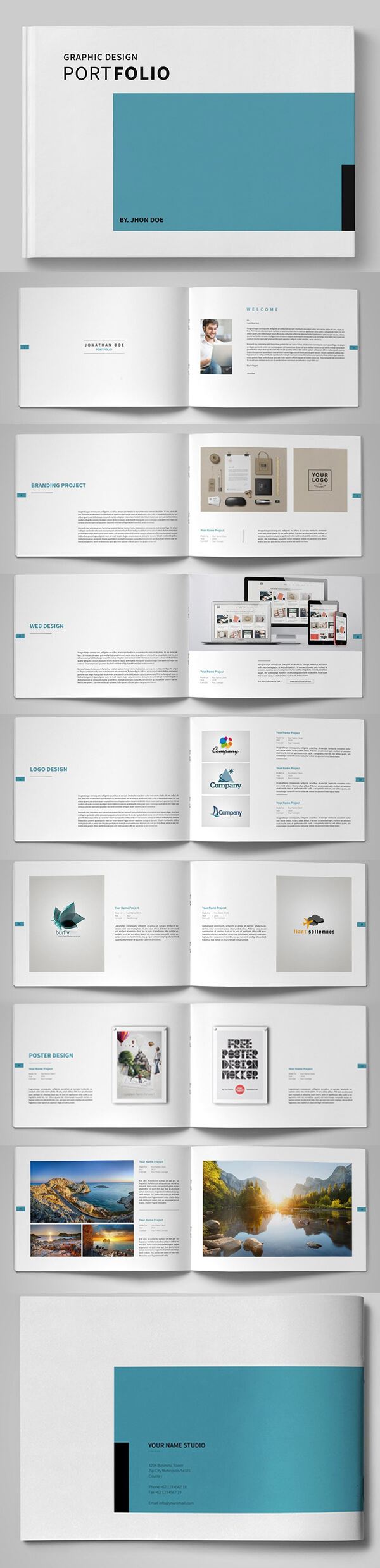 20 New Professional Catalog Brochure Templates | Design Throughout Business Process Catalogue Template