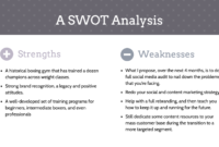 20+ Swot Analysis Templates, Examples & Best Practices in Business Opportunity Assessment Template