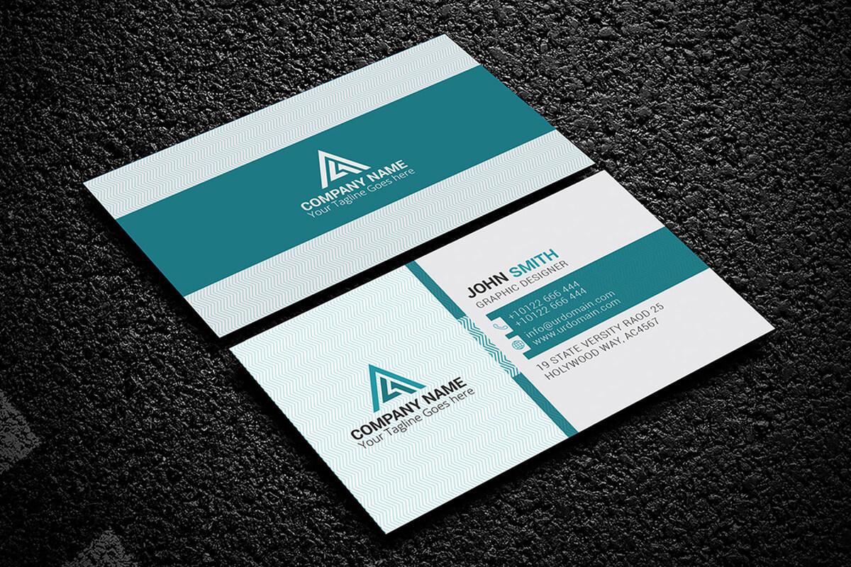 200 Free Business Cards Psd Templates - Creativetacos For Calling Card Template Psd