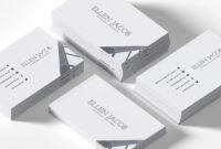 200 Free Business Cards Psd Templates – Creativetacos regarding Blank Business Card Template Photoshop