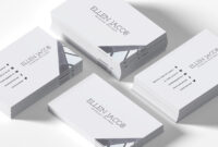 200 Free Business Cards Psd Templates – Creativetacos throughout Blank Business Card Template Psd