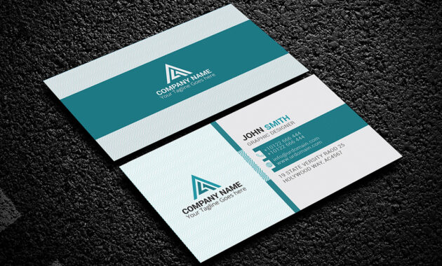 200 Free Business Cards Psd Templates - Creativetacos within Calling Card Psd Template