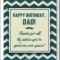 21+ Dad Birthday Card Templates & Designs – Psd, Ai   Free Regarding Birthday Card Template Indesign