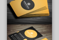 24 Premium Business Card Templates (In Photoshop with regard to Business Card Maker Template