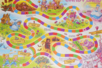25 Images Of Life-Size Candyland Game Piece Template throughout Blank Candyland Template