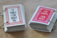 25+ Meaningful Military Going Away Gift Ideas | Shutterfly in 52 Things I Love About You Cards Template