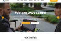 25+ Pro Business Website Templates 2019 – Templatemag inside Basic Business Website Template