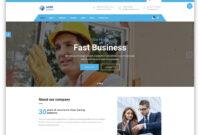 25 Top Business Website Templates (Html5 & WordPress) 2019 inside Basic Business Website Template